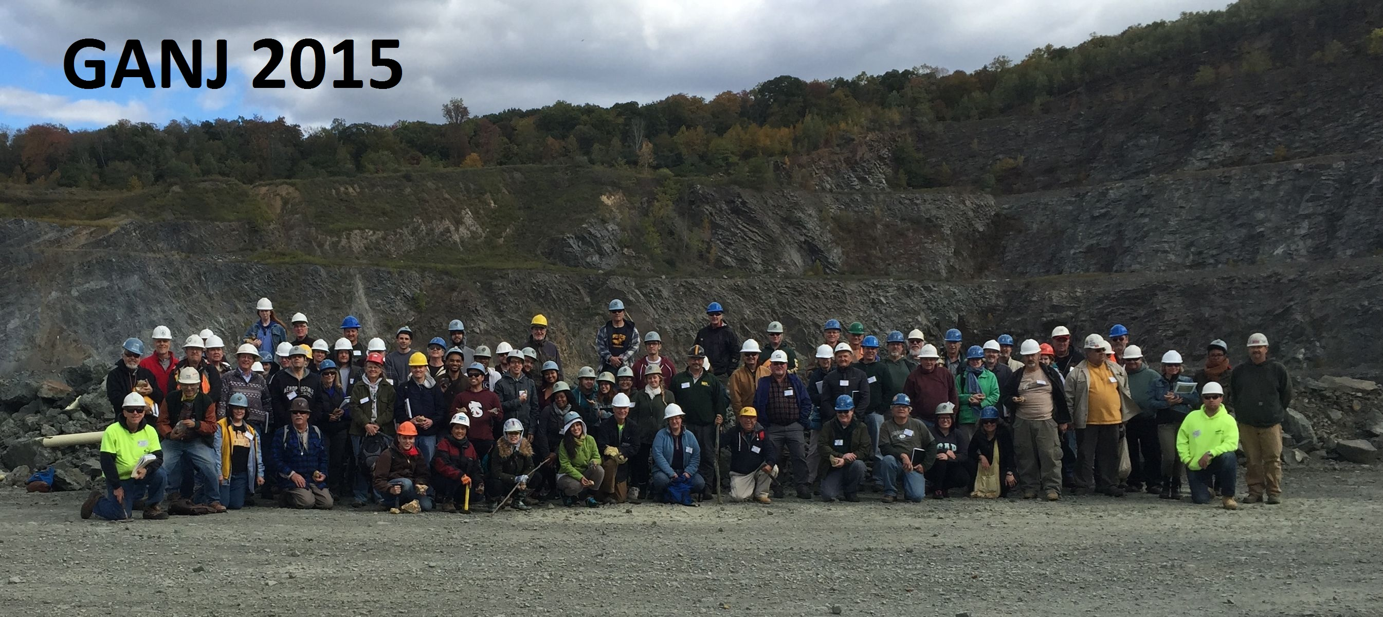 Geological Association of NJ 2015 group photo